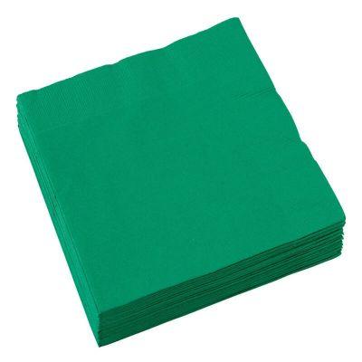 Sachet de 20 serviettes - Vert Sapin