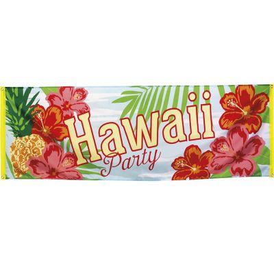 """Bannière """"Hawaï Party Paradise"""""""