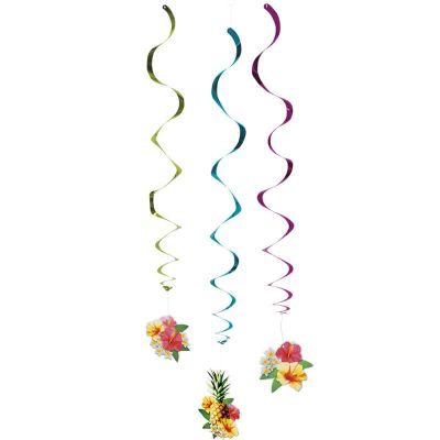 "3 Spirales en suspensions "" Hawaï Paradise"""