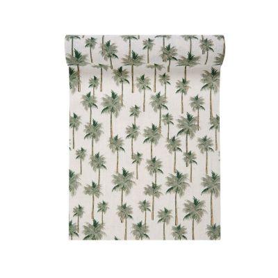 Chemin de Table Palmier - Collection Jungle Tropical