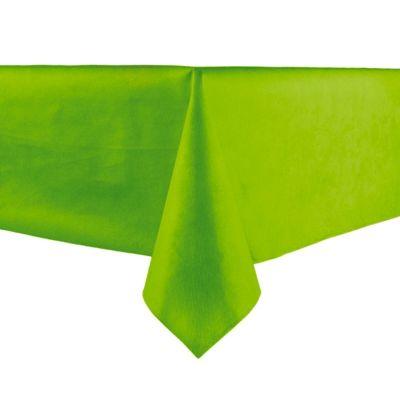 Nappe en intissé unie - vert anis