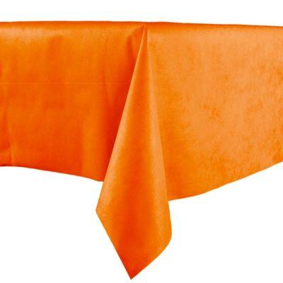 Nappe en intissé unie - Orange
