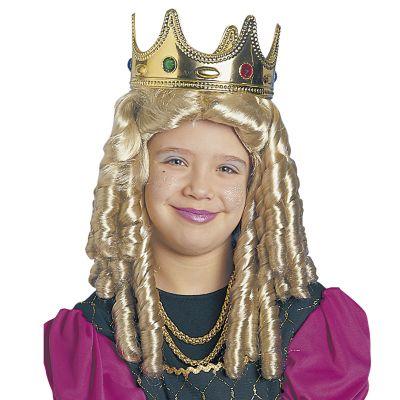 Perruque de princesse blonde - Enfant