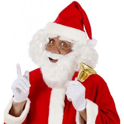 Barbe et Moustache Blanche de Père Noël