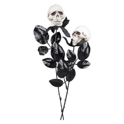 Décoration Rose Tête de Mort