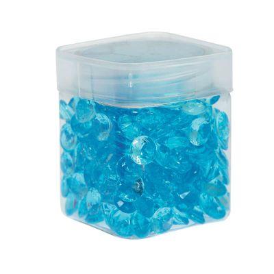 Perle de pluie diamants 110 gr - Bleu