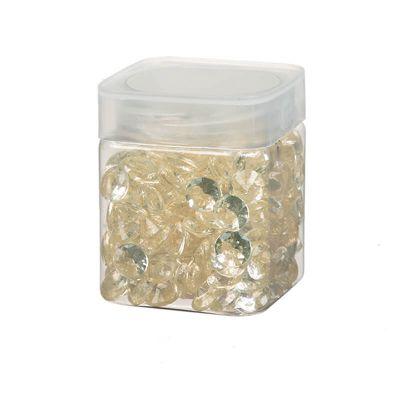 Perle de pluie diamants 110 gr - Ivoire