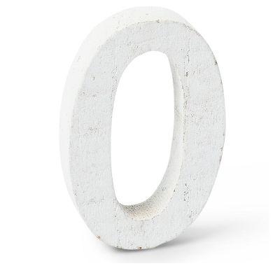 """Chiffre """"0"""" en Bois - 5 cm"""