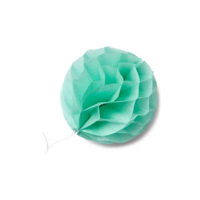 8 boules alvéolées – Vert menthe