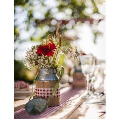 Bouquet d'épis de blé naturels