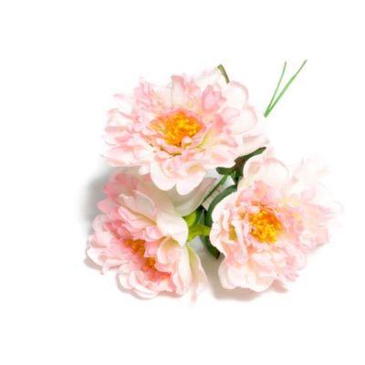 Bouquet de 3 Pivoines - Dégradé de Roses