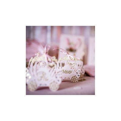 contenants-carrosses-roses-paillettes-princesse | jourdefete.com