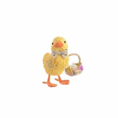 Poussin de Pâques avec Panier