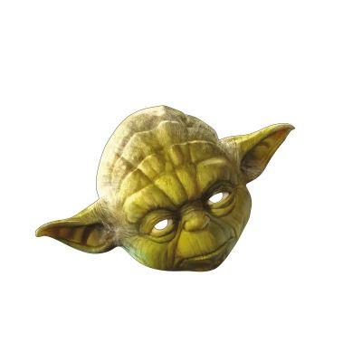 Masque en Carton Yoda