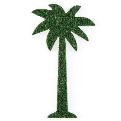 3 Décorations Palmier en Feutrine