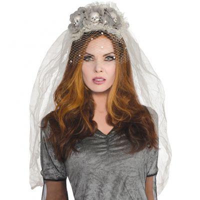 Serre-Tête Mariée Fantôme