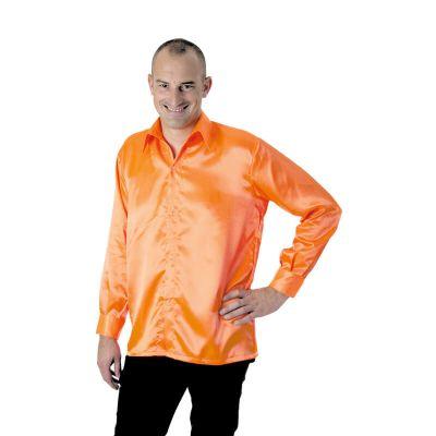 Chemise néon Disco Fluo - Orange