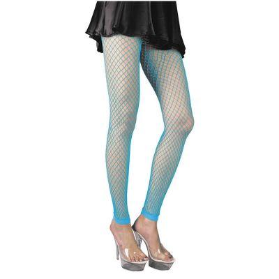 Legging Résille - Bleu Fluo