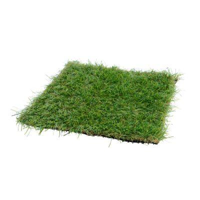 Carré d'herbe artificielle en plastique (25 x 25 cm)