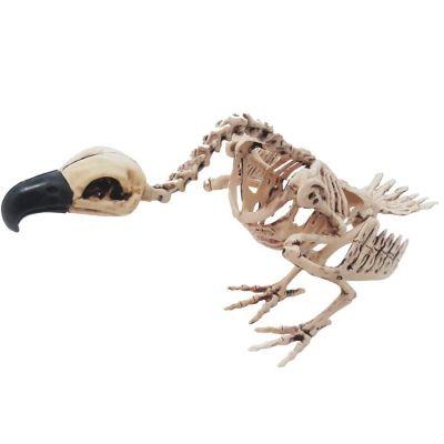 Décoration Halloween - Squelette de Vautour à Poser
