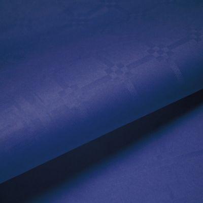 Rouleau de Nappe Damassé Bleu Vif 25 m