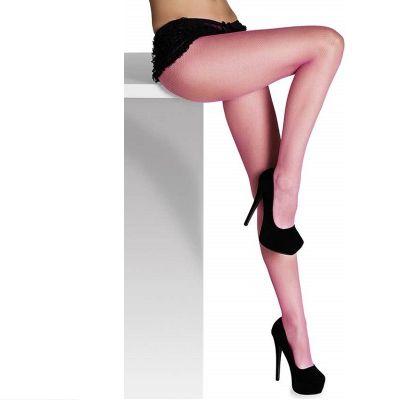 Collants Résille Rose - Taille Unique