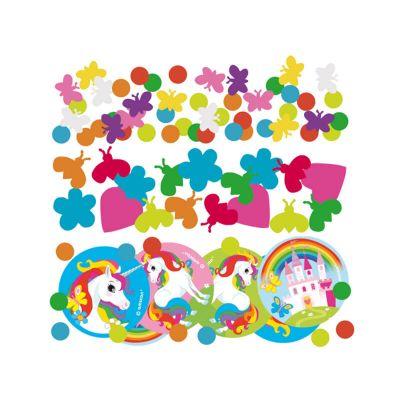 Confettis de table Licorne