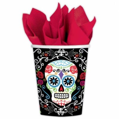 Pack 10 Gobelets Day Of The Dead
