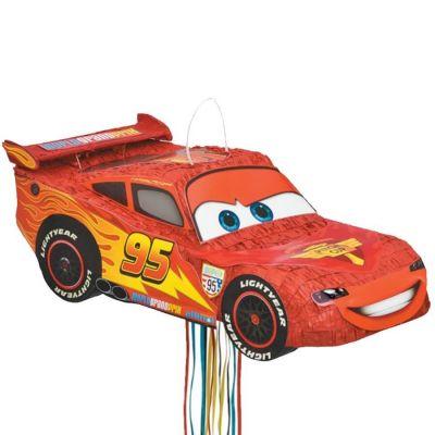 Piñata à tirer - Flash McQueen - Cars