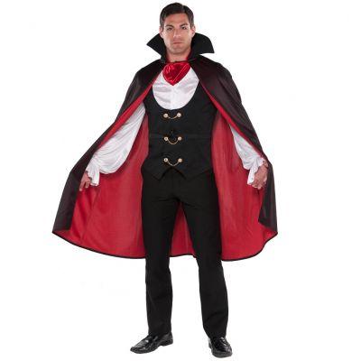 Déguisement de Vampire Luxueux Homme - Taille au Choix