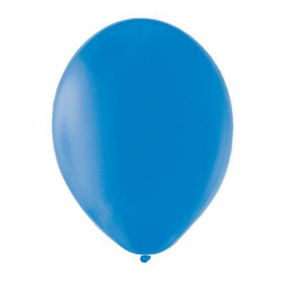 20 Ballons de Baudruche Unis Bleu
