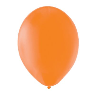 100 Ballons de Baudruche Unis Orange