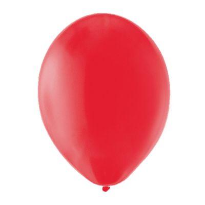 100 Ballons de Baudruche Unis Rouge