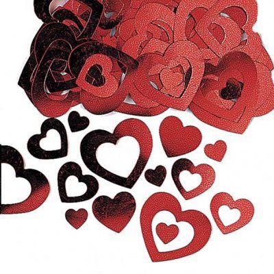 """Confettis de Table """"Coeur Love Rouge"""""""