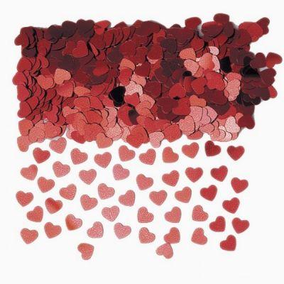 """Confettis de Table """"Coeur Rouge"""""""
