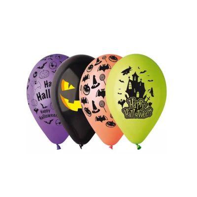 10 ballons latex halloween   jourdefete.com