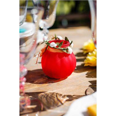 Petit vase bucolique - Corail