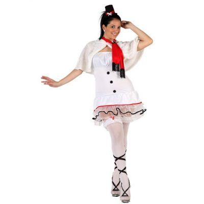 Costume de Noël - bonhomme de neige pour femme