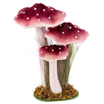 champignons-decoratif-table-pourpre jourdefete.com