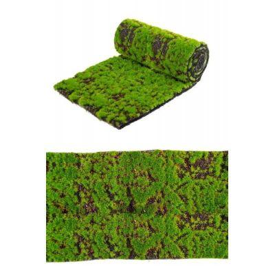 chemin-table-decoration-nature-mousse | jourdefete.com