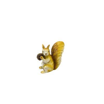 petit ecureuil en resine   jourdefete.com