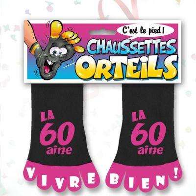 Chaussette à Orteil 60 Aine Rose