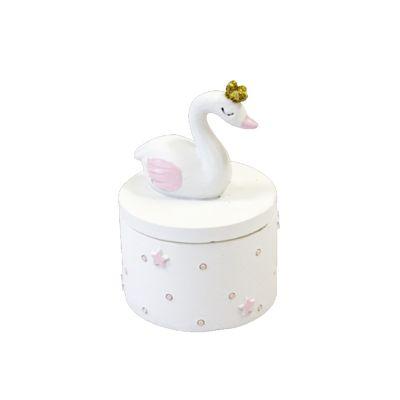 Petite Boite - Baby Shower - Cygne Rose | jourdefete.com