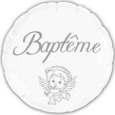 """Ballon Hélium """"Baptême"""""""