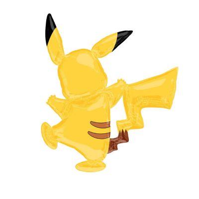 Ballon-Hélium-Airwalkeur-Pokémon-Pikachu  jourdefete.com