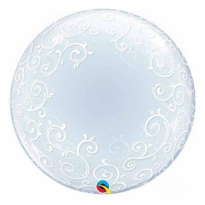 Ballon Hélium Bubble Arabesques