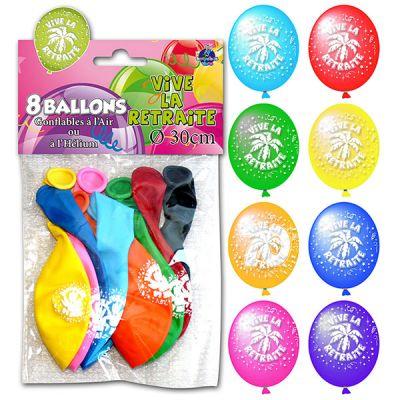Ballons Vive la Retraite