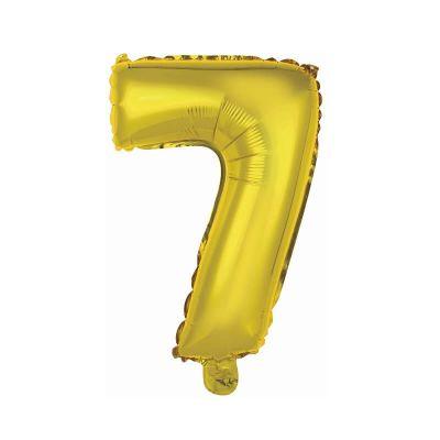 ballon metal a air couleur or chiffre au choix   jourdefete.com