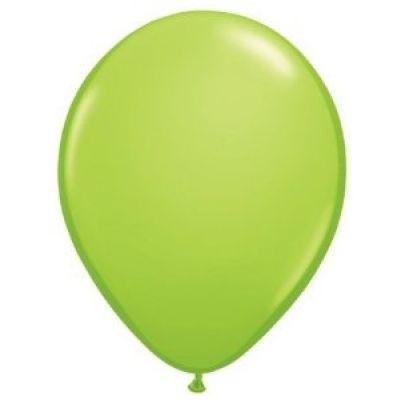 100 Ballons de Baudruche Unis Tilleul