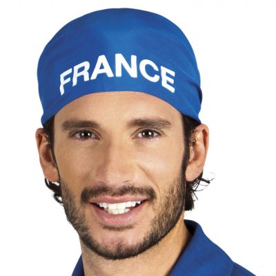 Bandana Bleu de Supporter - France